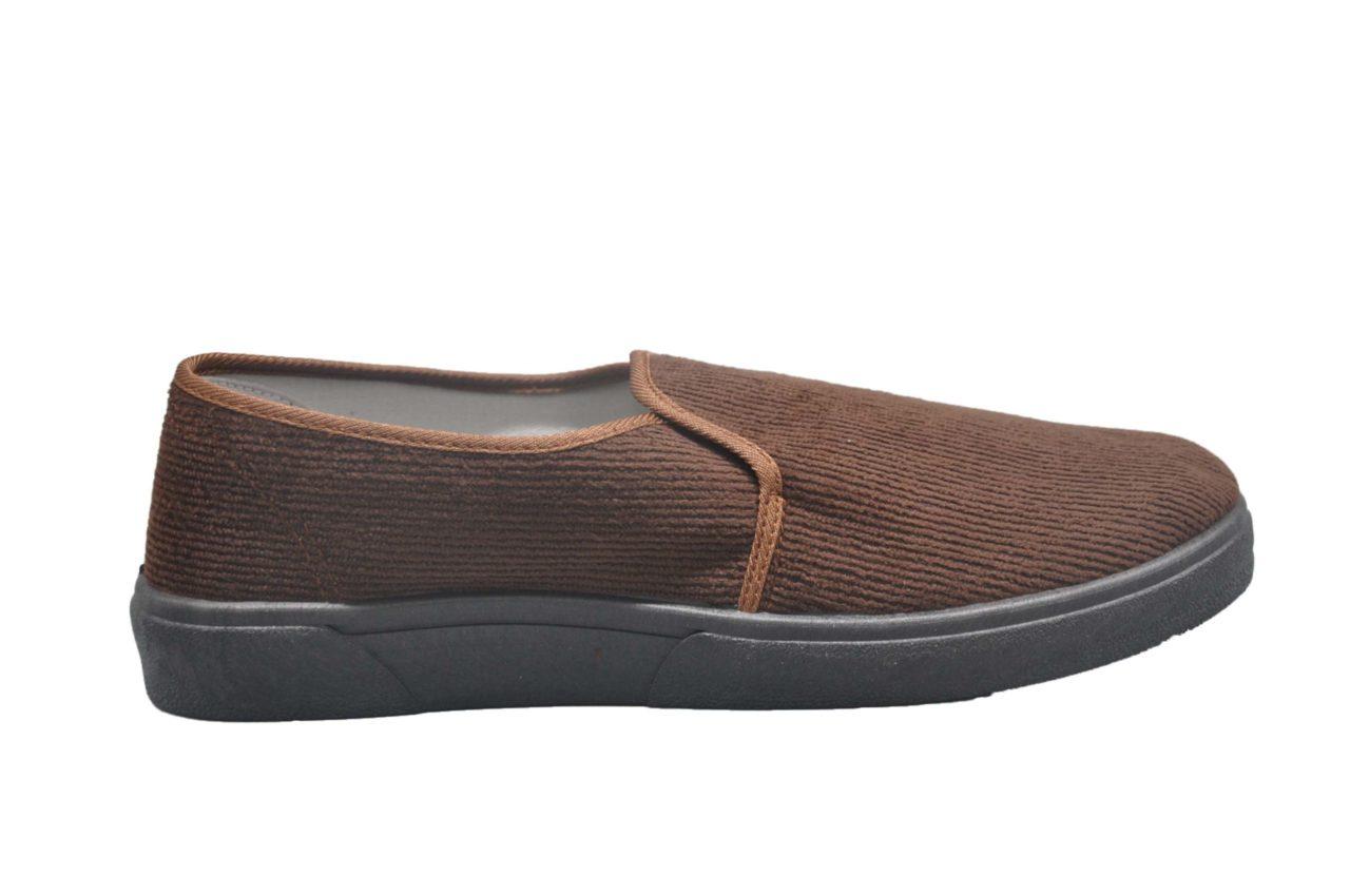 Brown Canvas Shoes