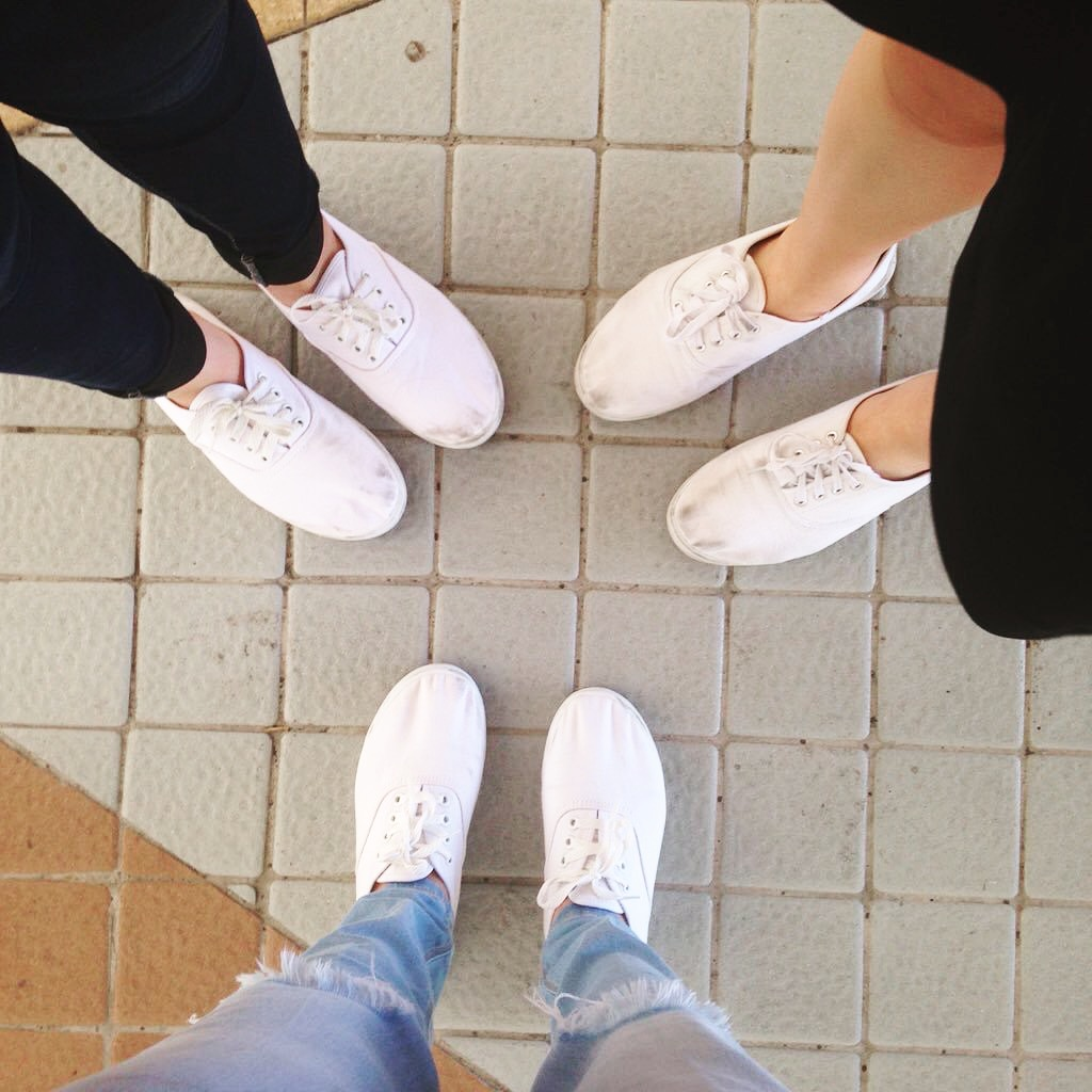 Many Wearing Shoes