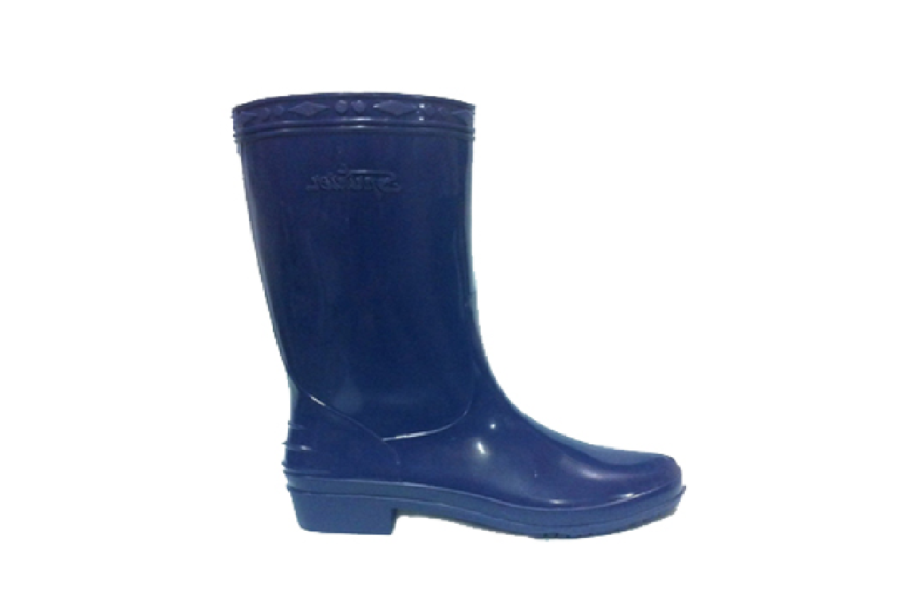 SL01 Navy Blue Rain Boots