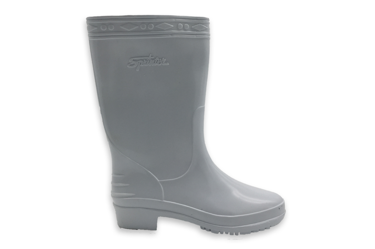 SL01 White Rain Boots