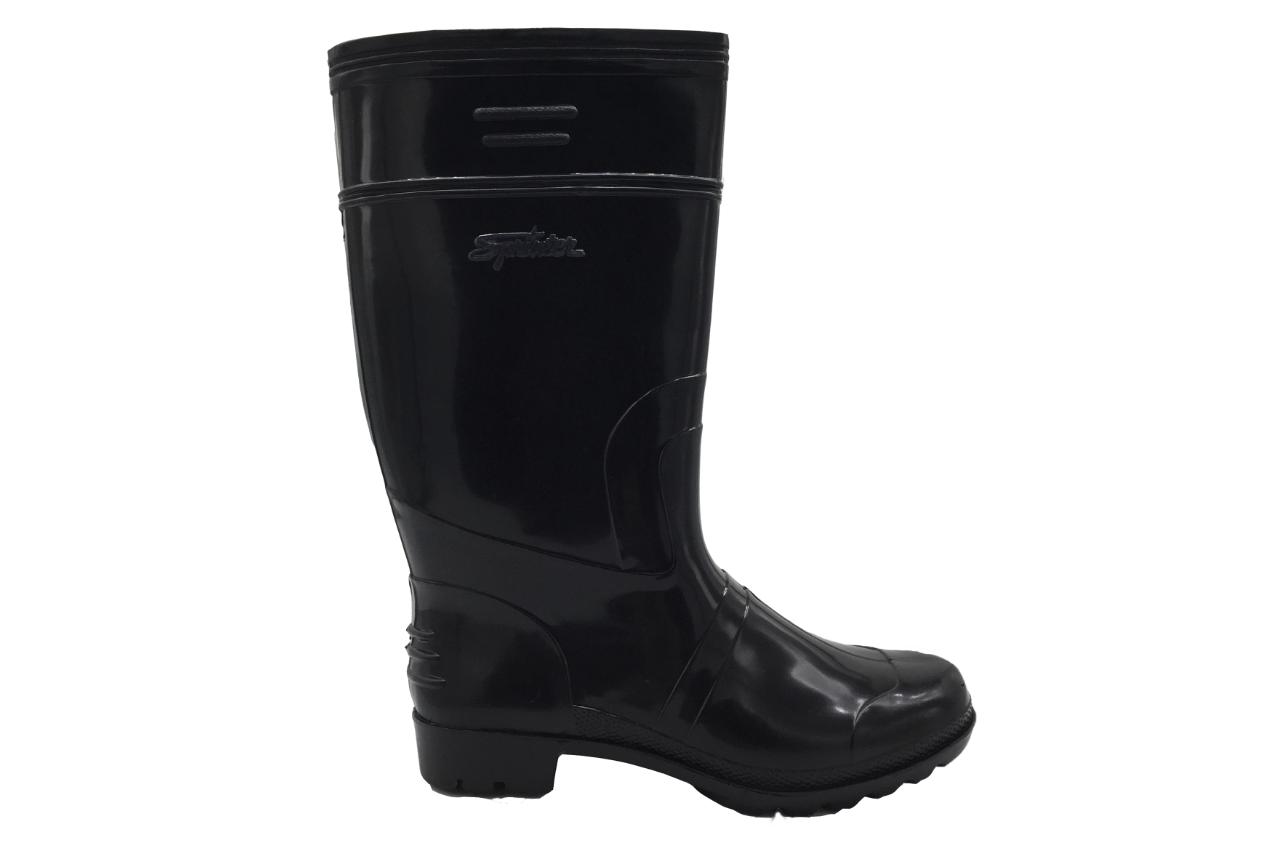 SM01 Black Rain Boots