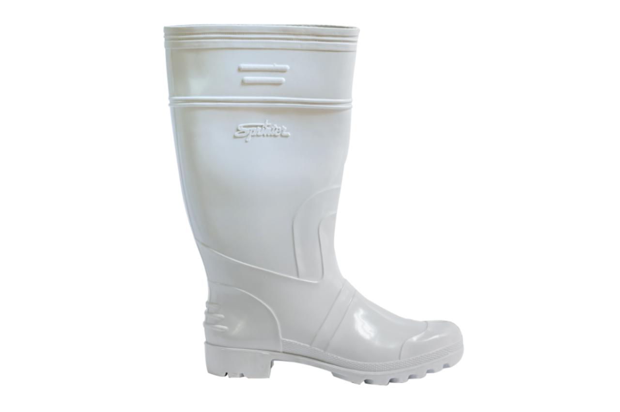 SM01 White Rain Boots