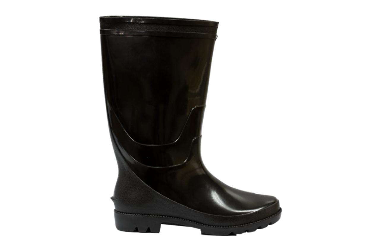 SM02 Black Rain Boots