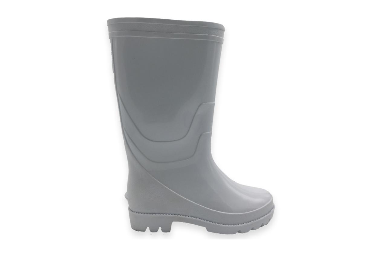 SM02 White Rain Boots